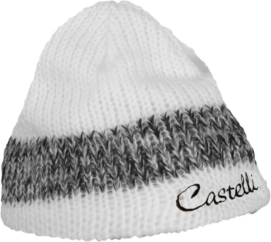 add60a772 Zimná dámska čiapka, Castelli 12549 BELLA KNIT W CAP, 001 - biela, UNI