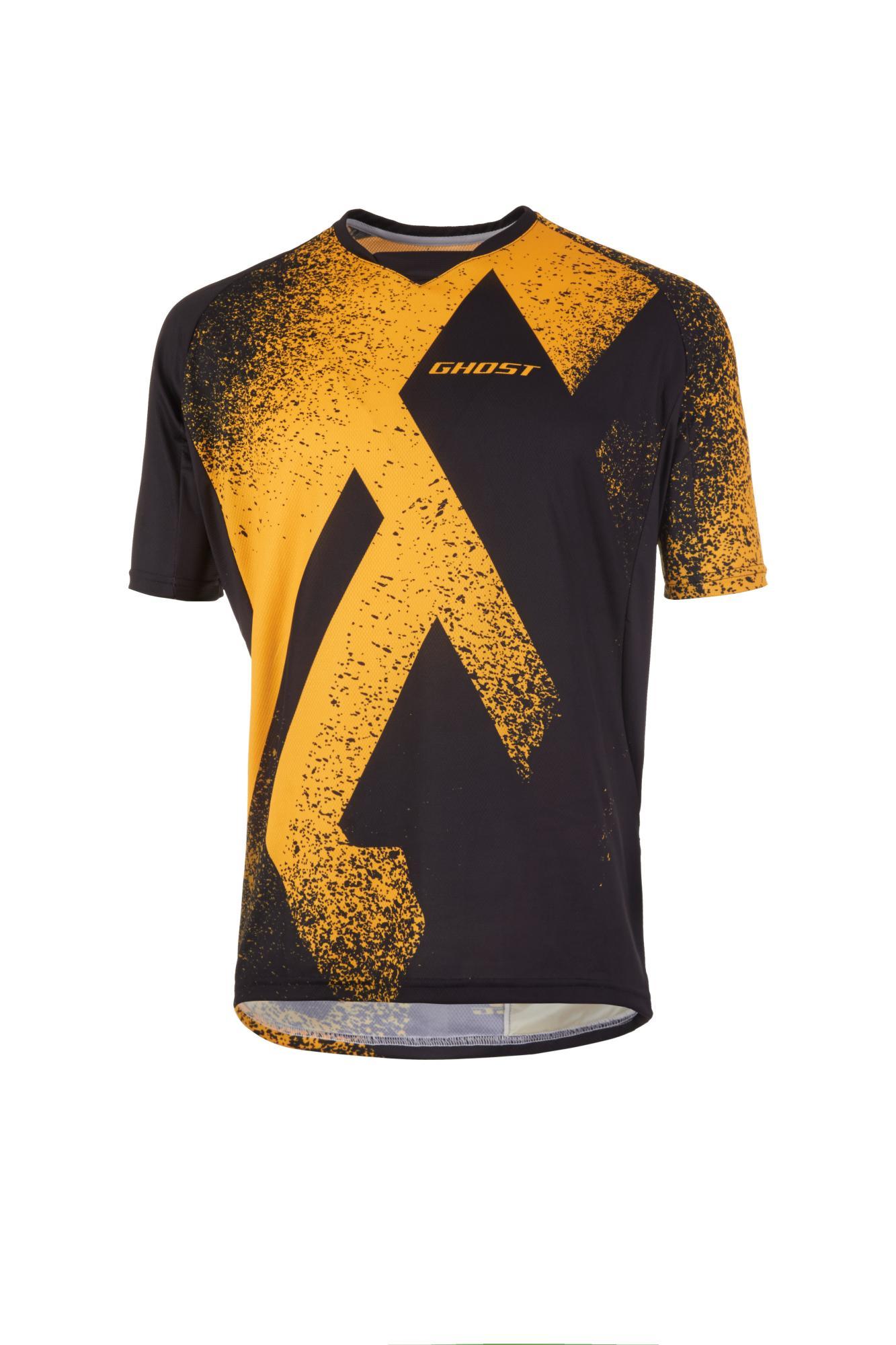 ec842b462608 GHOST oblečenie Dres   Jersey MTN Ride Line yellow   black 2019 - E ...