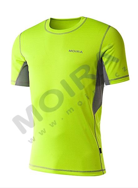 bff7df673f39c Pánske tričko MOIRA FR/KR zelené L - E-shop - SHOPBIKE