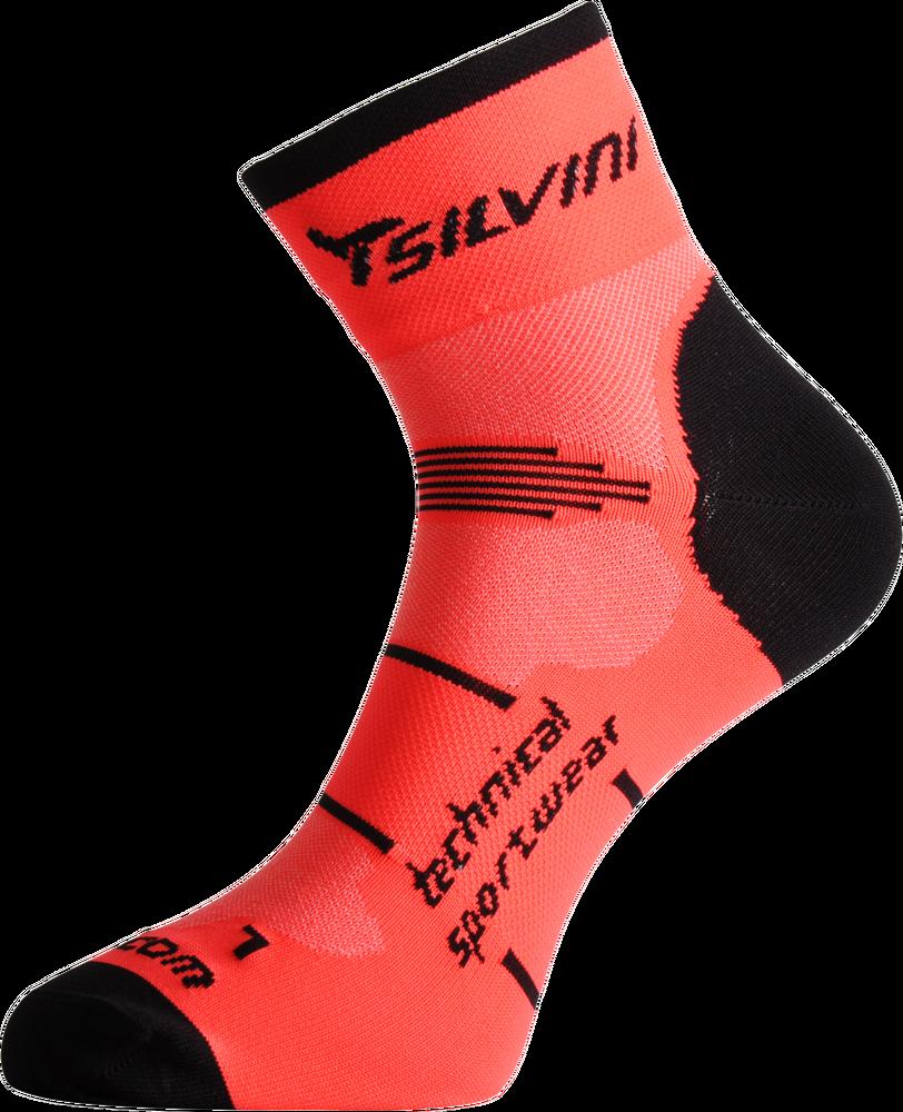 Cyklistické ponožky Silvini ORATO UA445 orange - E-shop - SHOPBIKE 56b6a780aa