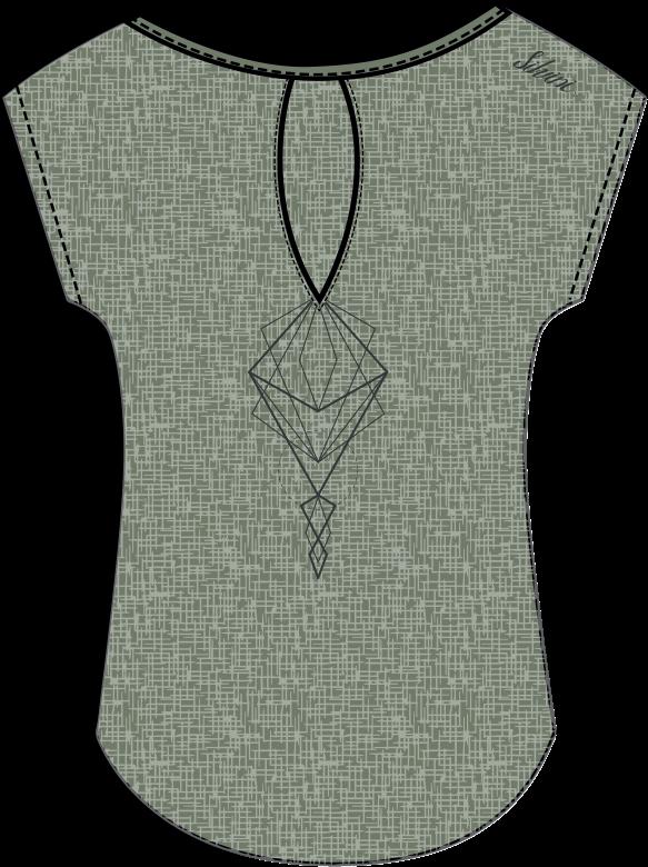 Dámske voľné MTB tričko bez rukávov Silvini Calcinara WD1208 olive ... 6bc8a86aea