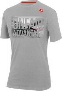 b1c3ce472 Pánske tričko s krátkym rukávom, Castelli 18126 STELVIO, 094 - svetlá šedá