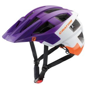 Prilba CRATONI AllSet violet-white-orange matt 2019, S-M (54-58cm)