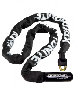 Zámok KRYPTONITE Keeper 712 Integrated Chain - 4    (7mm x 120cm)