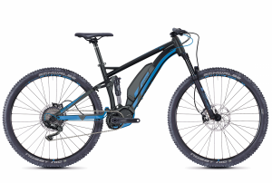 GHOST E-Bikes HYB Kato FS S3.9 black / blue 2018