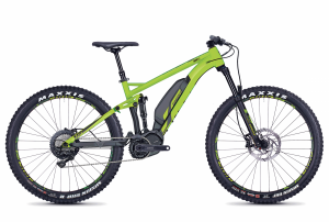 GHOST E-Bikes HYB Kato FS S4.7+ green / black 2018