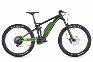 GHOST E-Bikes HYB Kato FS S6.7+ black / green 2018