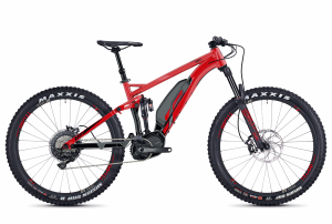 GHOST E-Bikes HYB Kato FS S8.7+ red / black 2018