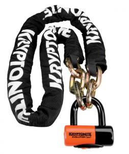 Zámok KRYPTONITE New York Chain 1217 (12mm x 170cm) with EVS4 Disc 14mm Shackle