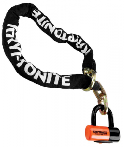 Zámok KRYPTONITE New York Noose  1213 (12mm x 130cm) withEVS4 Disc 14mm Shackle