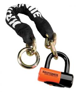 KRYPTONITE New York Noose 1275  (12mm x 75cm) with EVS4 Disc 14mm Shackle