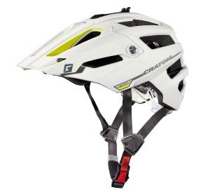Prilba CRATONI AllTrack white-yellow rubber 2018 M/L (58-61cm)