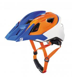 Prilba Cratoni AllRide blue-orange-white matt 2017, UNI (53-59cm)