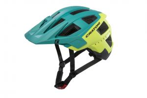 Prilba CRATONI AllSet green-yellow-black matt 2018, M-L / 58-61cm