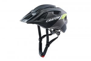 CRATONI ALLRIDE - black-lime matt 2021 UNI (53-59cm)