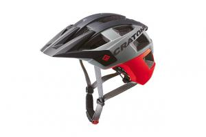Prilba CRATONI ALLSET - red-black matt 2020, M-L (58-61cm)