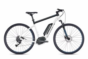 GHOST E-Bikes HYB Square Cross B2.9 white / black 2018