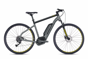 GHOST E-Bikes HYB Square Cross B2.9 grey / black 2018