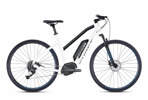 GHOST E-Bikes HYB Square Cross B2.9 Ladies white / black 2018