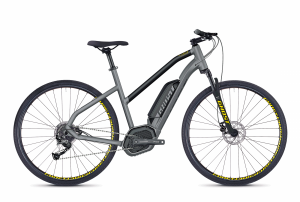 GHOST E-Bikes HYB Square Cross B2.9 Ladies grey / black 2018