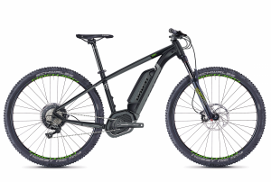 GHOST E-Bikes HYB Teru B7.9 black / grey / green 2018