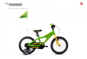 GHOST Powerkid 16 green / yellow 2018