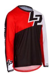 75ae3a35a33b LAPIERRE oblečení Trail dres dlouhý red white 2016 Výpredaj