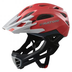 Prilba CRATONI C-MANIAC - red-grey matt 2020, M-L (56-59cm)