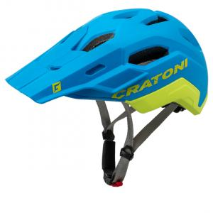 Prilba CRATONI C-MANIAC 2.0 TRAIL - blue-lime matt 2020, M-L (54-58cm)