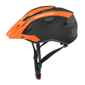 Prilba Cratoni ALLRIDE | 2019, UNI orange-black matt / 53-59cm