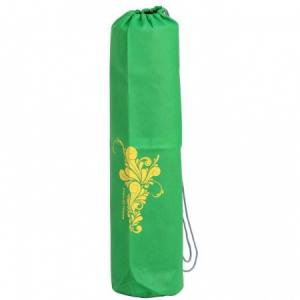 Joga taška Bodhi EASY Bag green / FLOWER honey yellow