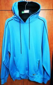34aa2b4efb Mikina Slazenger Hooded Sweat modrá L
