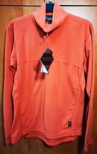 0474b2327b Pánska mikina Treksport TECNOTOP oranžová M