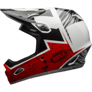 Prilba BELL Transfer-9 Black/Red/White M