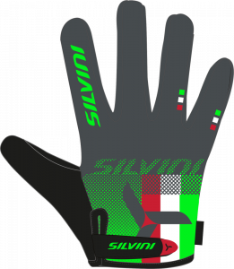 Rukavice Silvini TEAM MA850 green