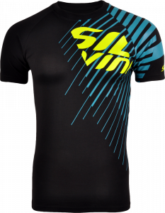 Pánske tričko Silvini PROMO MT517 black ocean 19a19cafa25