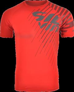 Pánske tričko Silvini PROMO MT517 red charcoal 8d1fc862152