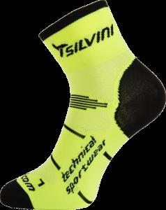 ba1d2b96e56b7 Cyklistické ponožky Silvini ORATO UA445 neon