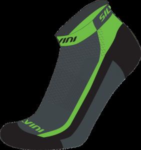 Cyklistické ponožky Silvini PLIMA UA622 green e735802036