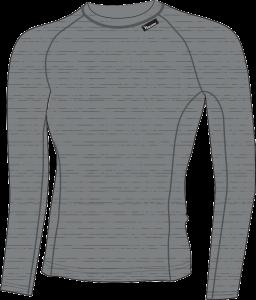 df9efc9df40b Dámske funkčné tričko s dlhým rukávom Silvini Lana WT566 cloud charcoal