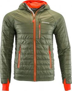 Pánska bunda Silvini RUTOR MJ1142 olive/orange