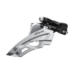 Prešmyk Shimano Alivio M4000 3x9 Side Swing, MID Clamp (34,9/31,8/28,6mm)