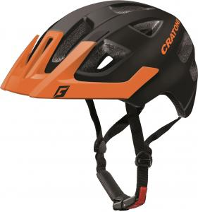 Prilba CRATONI Maxster PRO black-orange matt 2018, XS-S (46-51cm)