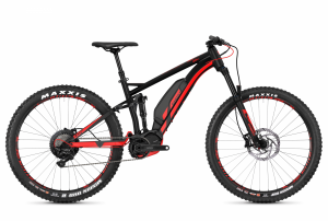 GHOST E-Bikes HYB Kato FS S4.7+ black / red 2018