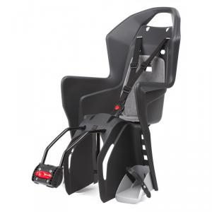 753f6e0f010e Detská sedačka Polisport KOOLAH na sedlovú trúbku tmavo sivo strieborná
