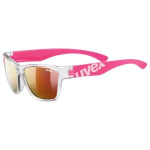 Okuliare UVEX SPORTSTYLE 508 clear pink/mir red (9316)